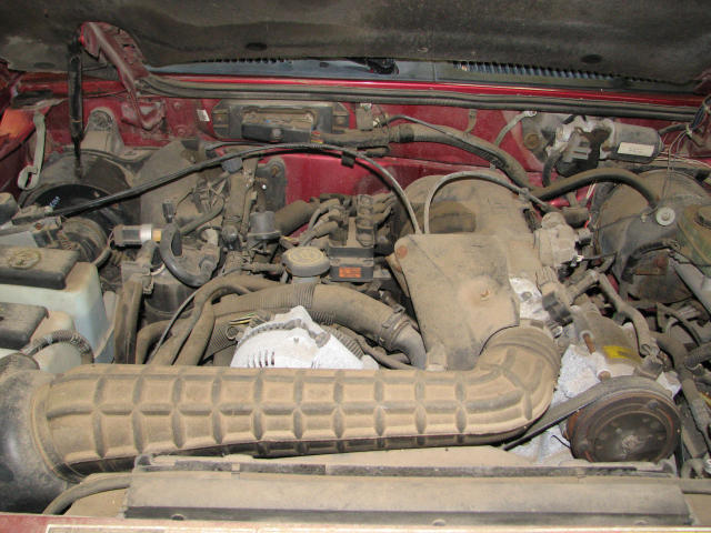 1995 FORD EXPLORER AIR CLEANER 1678655