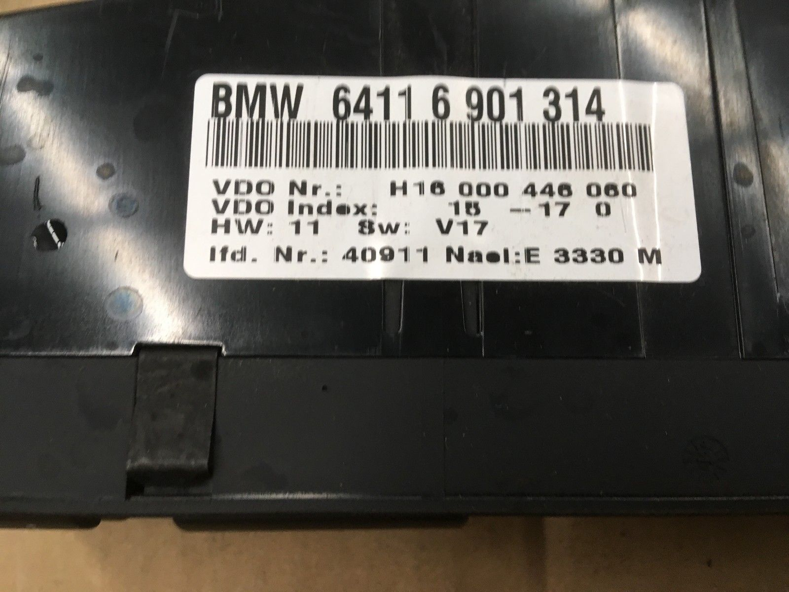 BMW 5 E39 525 530 540 M5 A/C AIR CONDITIONING HEATER CLIMATE CONTROL p/n 6916641 64116916641