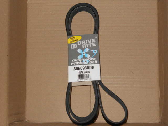 GM Ford Mercedes + others New Serpentine Drive Belt Dayco 5060930DR Made in USA 036687382023