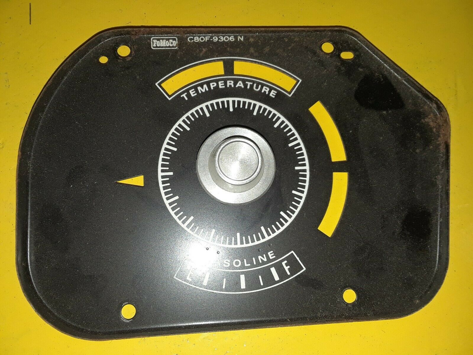 Ford 68 FAIRLANE Torino FUEL GAUGE C80Z-9305-B / C80F-9306-N - PARTS Does not apply