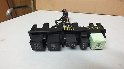 2012 2013 VOLKSWAGEN CC 2.0 T AT ACCESORY RELAYS OEM #121T