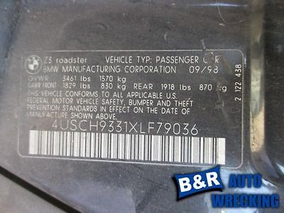 PASSENGER RIGHT LOWER CONTROL ARM FR COUPE FITS 92-99 BMW 318i 9497005 512-59058R 9497005