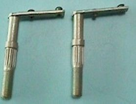 1953 Hudson Jet Lower Vent Pivot Pin Pair (2)