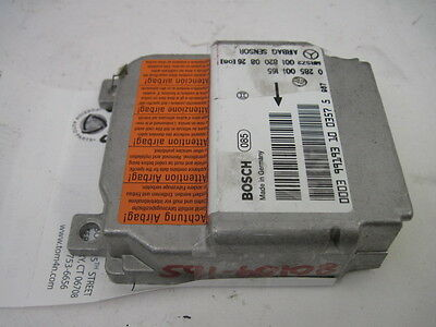 AIR BAG COMPUTER <em>MERCEDES</em> SLK230 CLK320 1997 - 2004 AIR BAG MODULE 634113