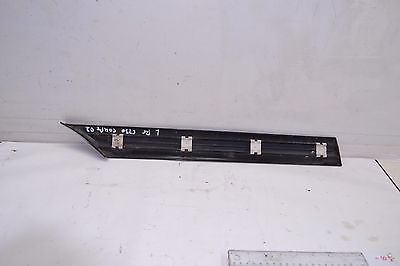 2002-2005 MERCEDES W203 C230 EXTERIOR REAR LEFT PANEL MOLDING FENDER 2036900762 A 203 690 07 62