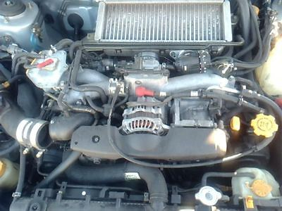TURBO/SUPERCHARGER WRX FITS 02-05 IMPREZA 9699491