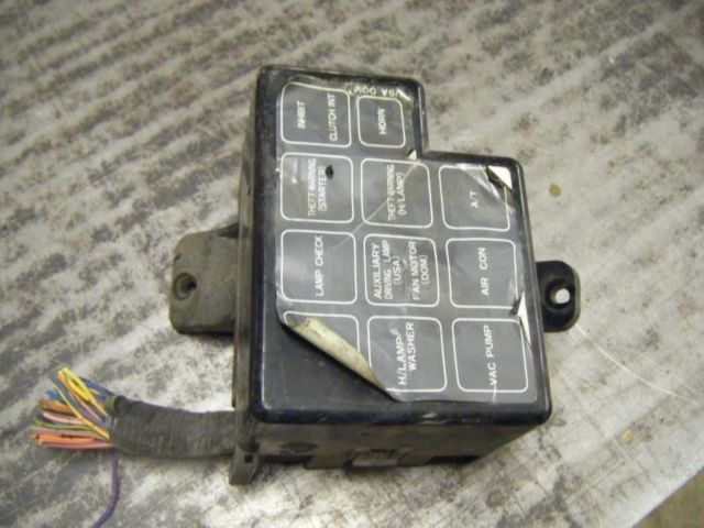 9dfb93b3 ce6a 4393 bf14 994b9ce4f636 88 nissan 300zx fuse box under hood large one 1 300 zx car 10218 1986 Nissan 300ZX Interior at mifinder.co