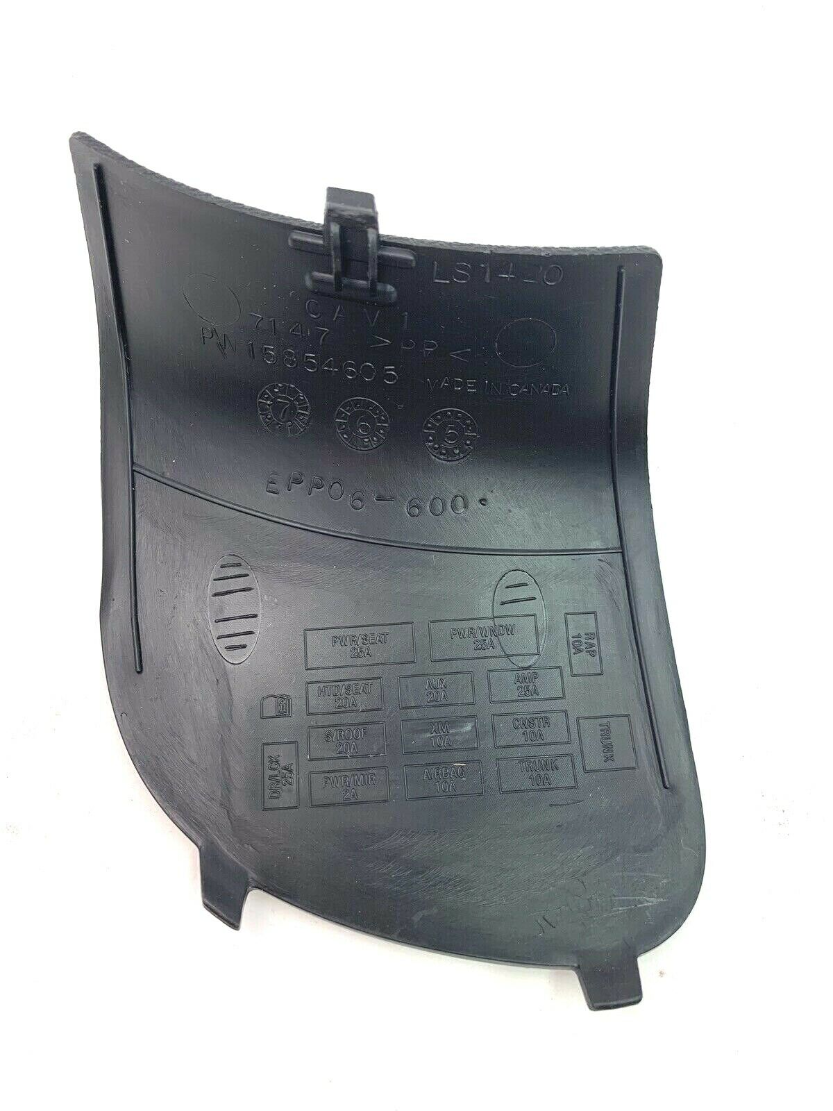 2006-2013 Chevy Impala Interior Access Cover Right New OEM 15934030 15934030