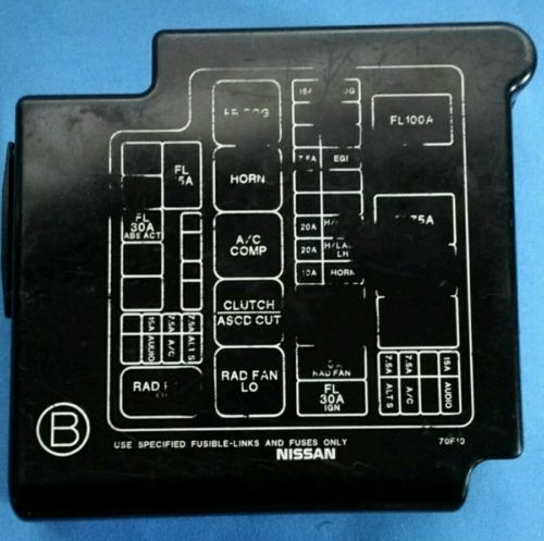 95 nissan 240sx engine fuse box cover  | 300 x 225