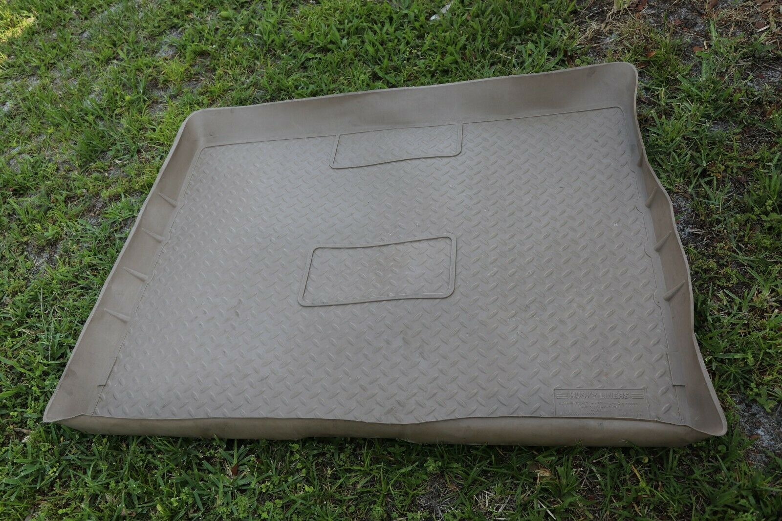 1998 Mercedes W163 All Weather Trunk Liners Mat Rubber husky