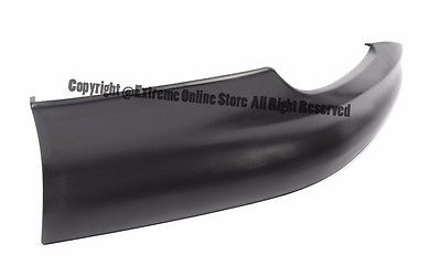 S Style Front Bumper Left & Right Lower Lip Spoiler Kit For 03-04 Toyota Corolla 2003 2004 03 04 Corolla CE LE Conversion 2-LIPF-L-TOCO03-BK+2-LIPF-R-TOCO03-BK