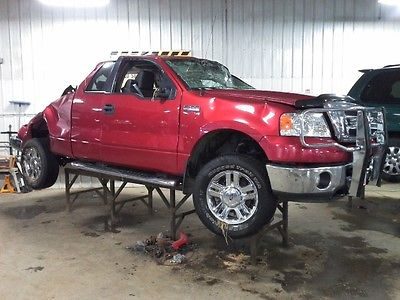 2008 FORD F150 PICKUP 54288 MILES STEERING COLUMN 2728029
