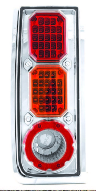 <em>IPCW</em> <em>Hummer</em> <em>H2</em> 2003-2008 <em>Tail</em> Lamps, LED Clear/Red/Amber