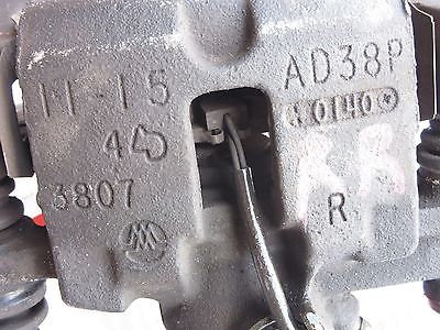 98-04 CADILLAC SEVILLE STS RIGHT REAR DISC BRAKE CALIPER-FRICTION OEM AD38P