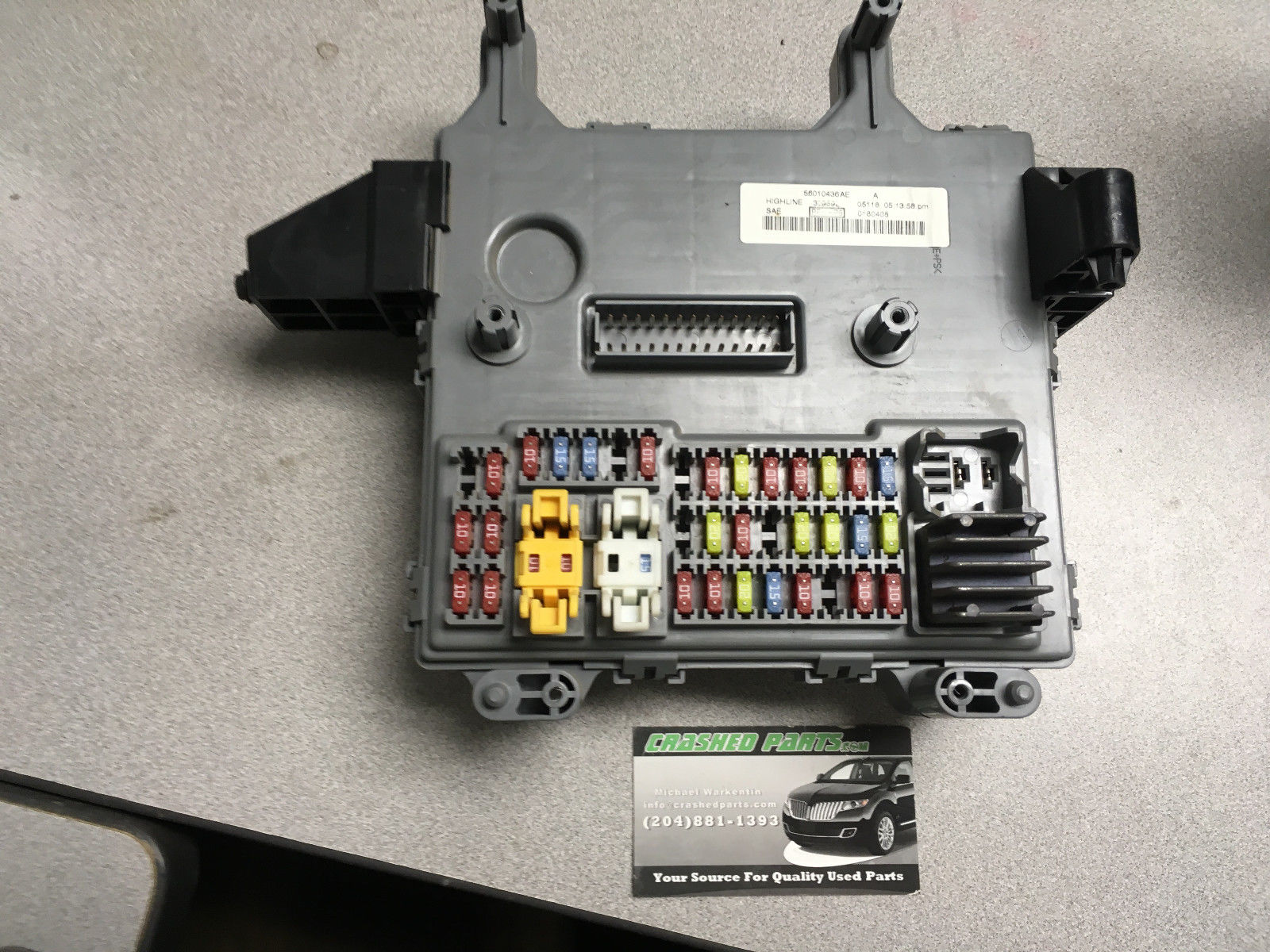 Jeep Liberty Fusebox P/N 56010436AE