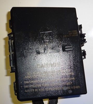 2005-2006 chrysler pacifica awd fuse box under/hood oem ... 08 chrysler pacifica fuse box #10