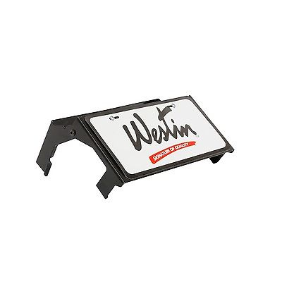 Westin 46-20055 Max Winch Tray License Plate Bracket