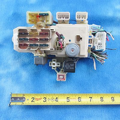 90 95 toyota 4runner sr5 inside fuse block panel 82641 35 oem used90 95 toyota 4runner sr5 inside fuse block panel 82641 35 oem used 1477