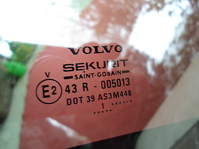 2001 VOLVO V70 OEM SUNROOF GLASS 100% LEAK PROOF SEAL GUARANTEED! 400 19 091