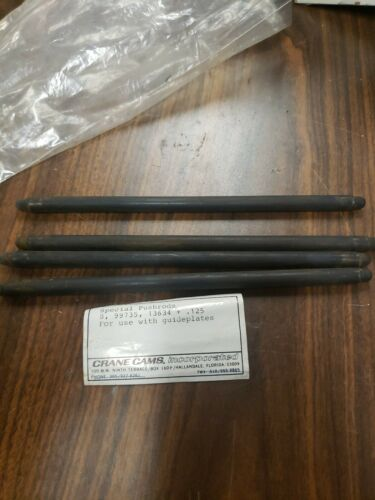 Crane Cams Special Pushrods  99735, 13634 + .125 For Use With Guideplates