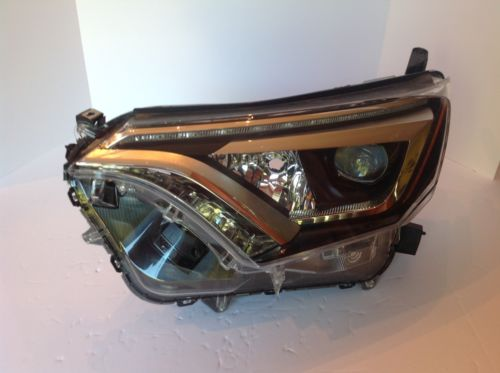 2016-2017 TOYOTA RAV-4 HID XENON FULL LED LEFT SIDE HEADLIGHT OEM