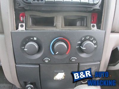 99 00 01 02 03 04 JEEP GRAND CHEROKEE TEMPERATURE CONTROL 8027537