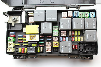 10 jeep liberty dodge nitro 04692304af fusebox fuse box relay unit module  k9262 04692304af 4692304af k9262