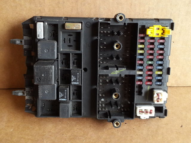 2002 jeep grand cherokee bcm fuse box block panel used oem ... ford focus fuse box for sale jeep fuse box for sale #15