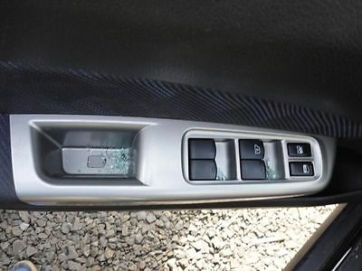 DRIVER FRONT DOOR SWITCH DRIVER'S LOCK AND WINDOW MASTER FITS IMPREZA 3737628
