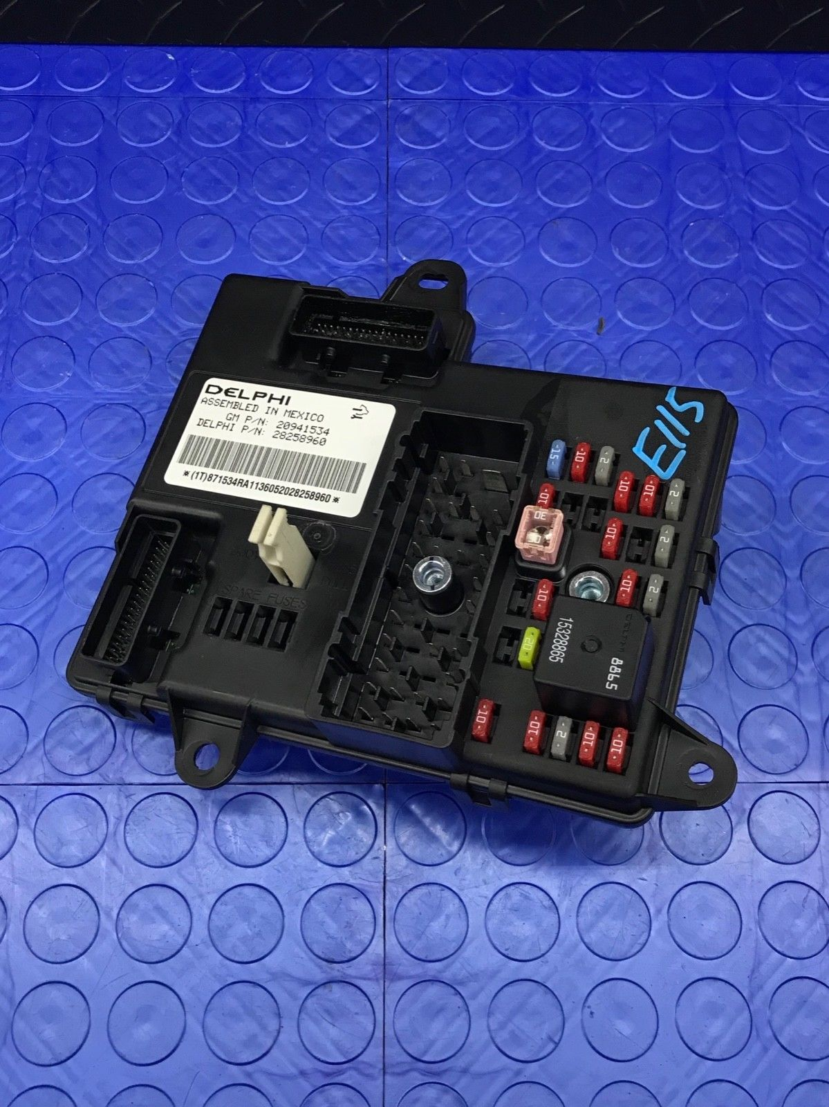 OE ACDelco GM Part BCM Body Control Module Assembly Unit 28258960 / 20941534 Does not apply