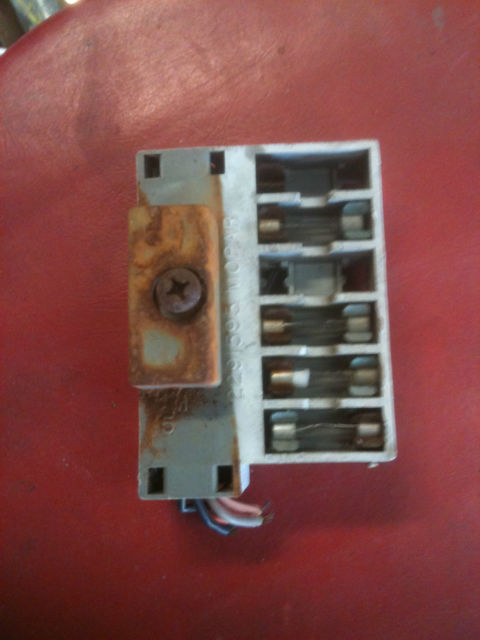 1964 64 Plymouth Valiant Fuse Panel  23790306