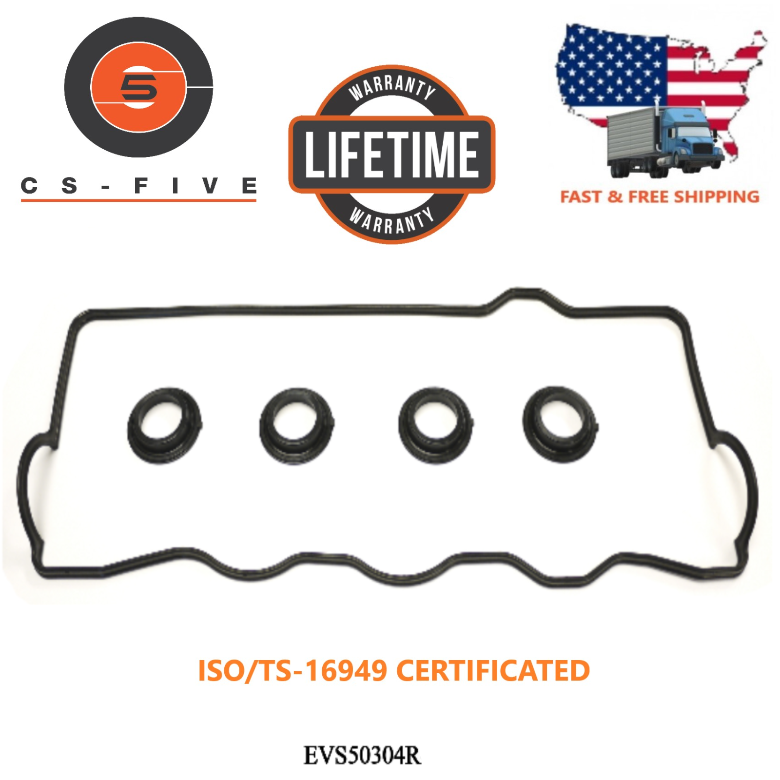 LIFETIME Engine Valve Cover Gasket Fit TOYOTA CAMRY 92 93 94 95 96 97 98 99 2000 2002-16329