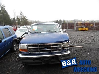 96 97 FORD F250 AC CONDENSER FROM 8501 GVW INTEGRAL AC 8495965