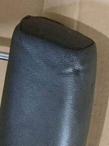 07-13 BMW E70 X5  REAR LEFT or RIGHT SECOND ROW LEATHER HEADREST OEM BLACK