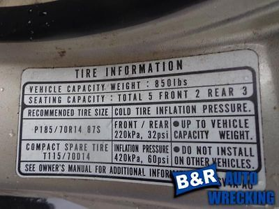 CHASSIS ECM FITS 94-95 ACCORD 4148621 591-50097 4148621