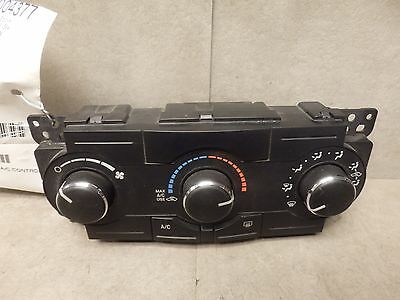 2009 CHRYSLER 300 HEATER AC CLIMATE CONTROL 55111871AD