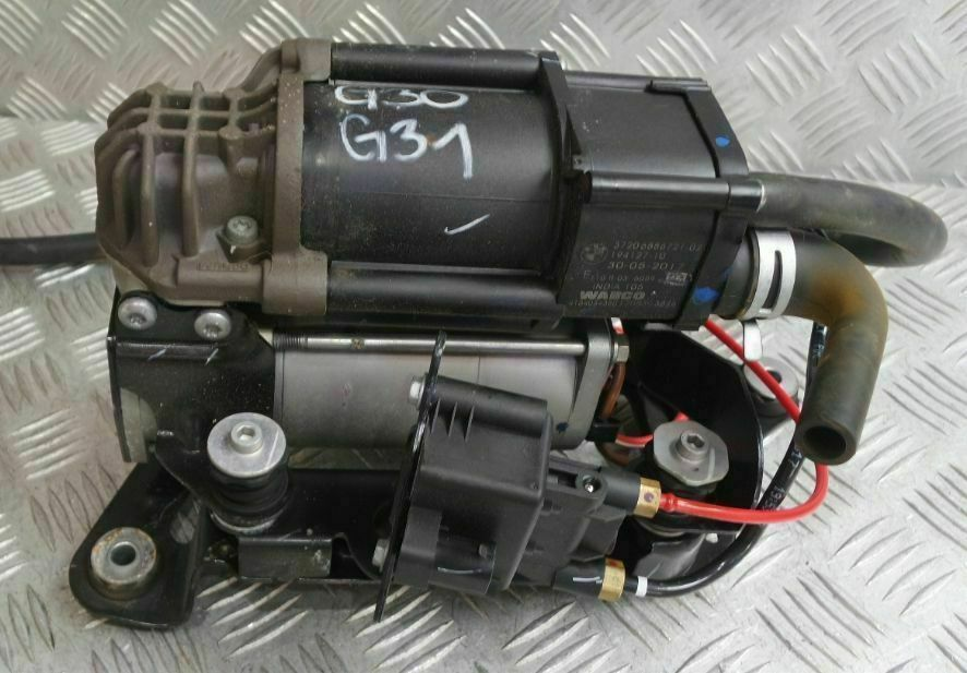 BMW 5 6 SERIES G31 G32 GT AIR SUSPENSION COMPRESSOR WABCO 6886721 / 37206886721