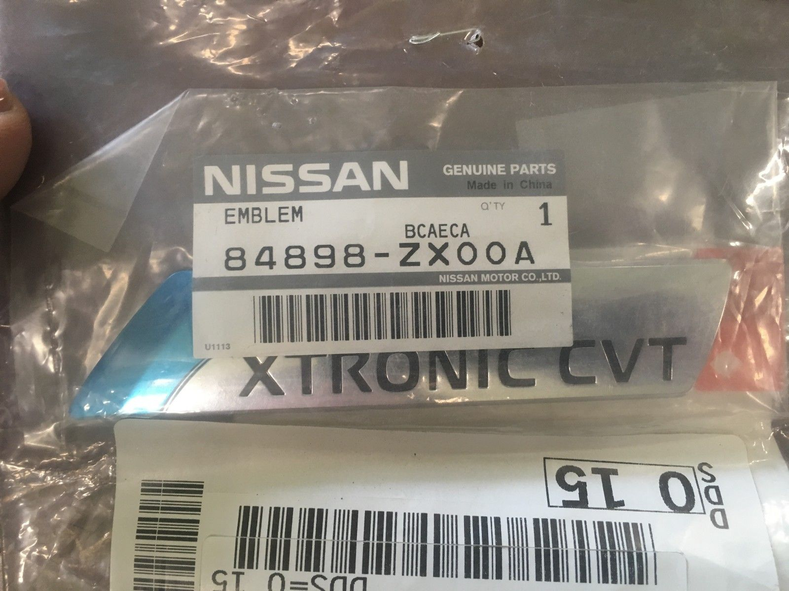 NEW OEM NISSAN ALTIMA REAR TRUNK EMBLEM
