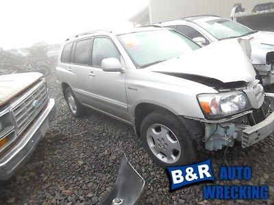 04 05 06 07 HIGHLANDER POWER STEERING PUMP VIN P 5TH DIGIT 6 CYL 3MZFE ENGINE 8774152