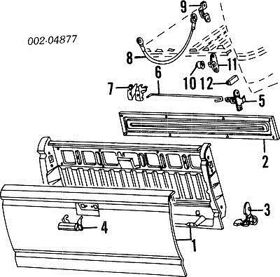 1974 Ford F 250 4x4 Wiring Diagram besides Ford Ranger Wiring Schematic in addition T4465125 Center console disasembly instructions together with Ford Ranger Tailgate Latch Replacement furthermore 1996 Ford Ranger Parts Diagram. on ford ranger door latch diagram