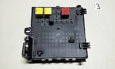 saab 9-3 rear distribution fuse box 12805846 2003 2004 ... 2005 saab fuse box #14