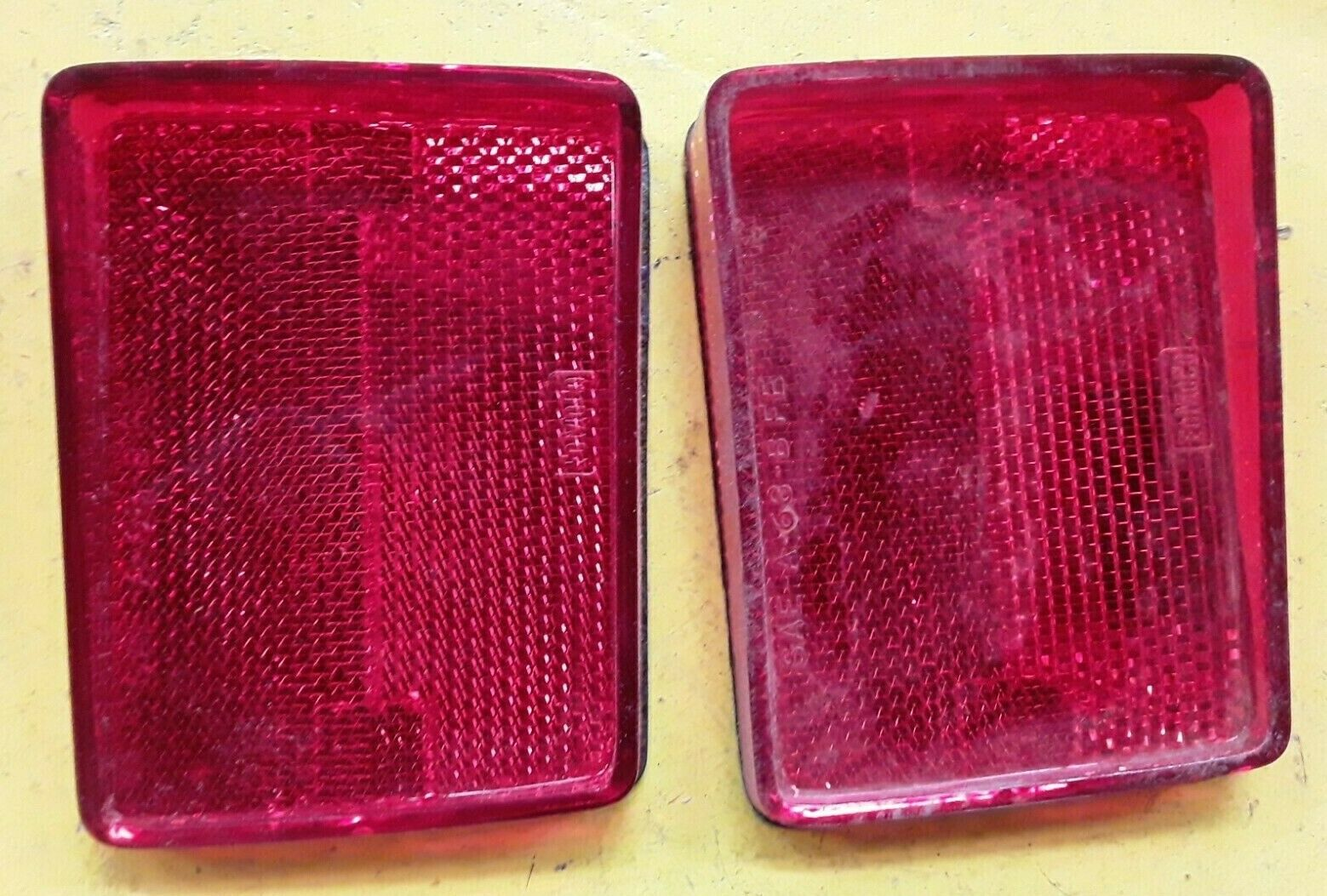 NOS 1968 Ford Torino Fairlane Fastback RH Rear Reflector C80Z-13380-D (QTY 2)