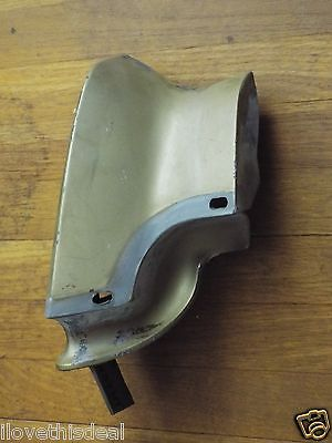 Genuine 1969 Buick Wildcat Quarter Panel End Cap-Extension-LH.