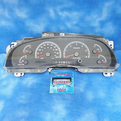 00-04 Ford F150 Instrument Cluster Speedometer XL3F-10A855-AA OEM Used 1707
