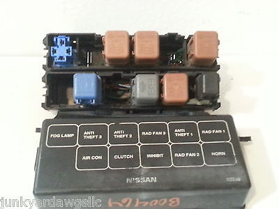bad2c24b 9518 497d 8c4a a79d9190e6a3 1998 1999 2000 2001 nissan altima relay fuse box block panel used House Fuse Box at soozxer.org