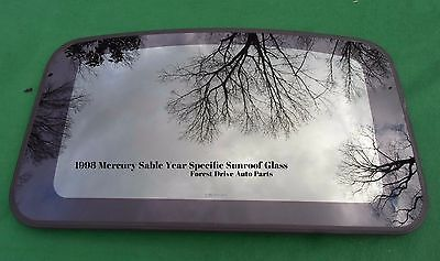 1998 <em>MERCURY</em> SABLE YEAR SPECIFIC  SUNROOF GLASS OEM NO ACCIDENT!  FREE SHIPPING!
