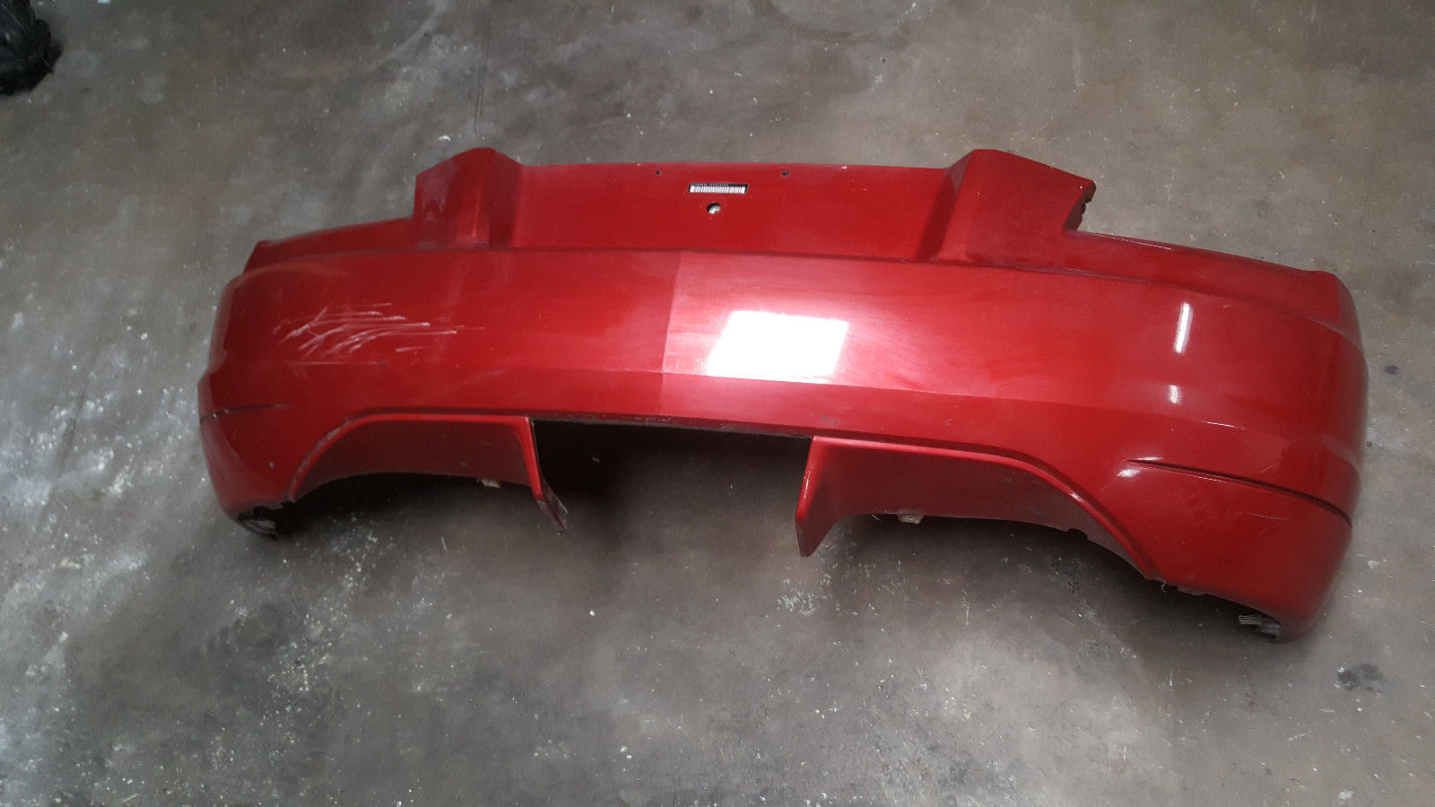 2004-05-06-07-2008 CHRYSLER CROSSFIRE REAR BUMPER COVER RED 1938850125 + BRACKET Does not apply