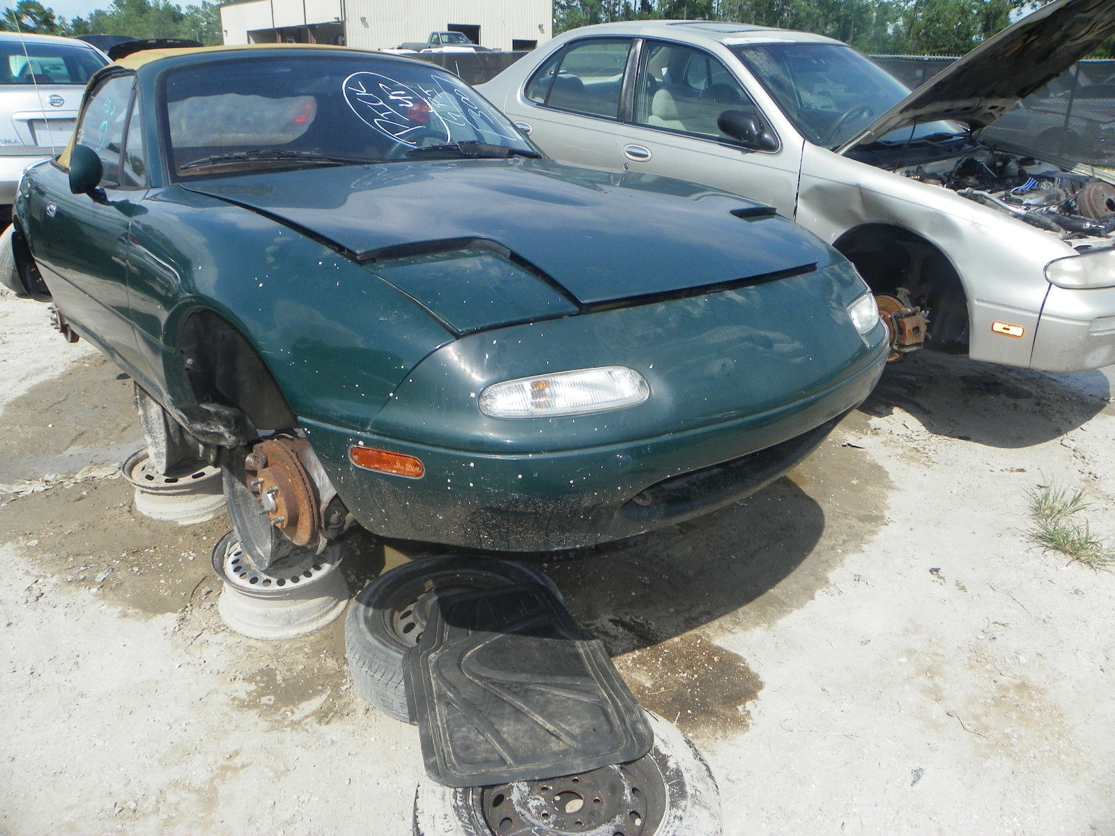 large mazda mx wheelwell s talon keeler on miata convertible