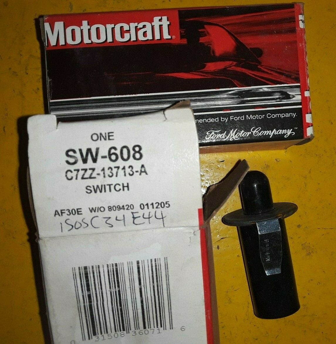 Door Jamb Switch Motorcraft SW-608 / C7ZZ-13713-A (QTY 2)