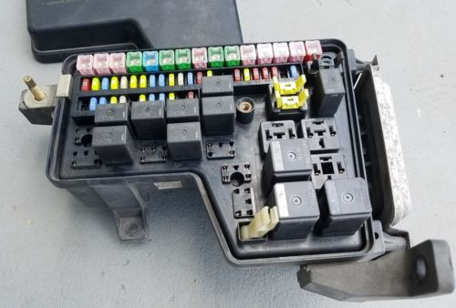 Used Dodge Ram Fuse Box : Dodge ram integrated power module fuse box control oem pn